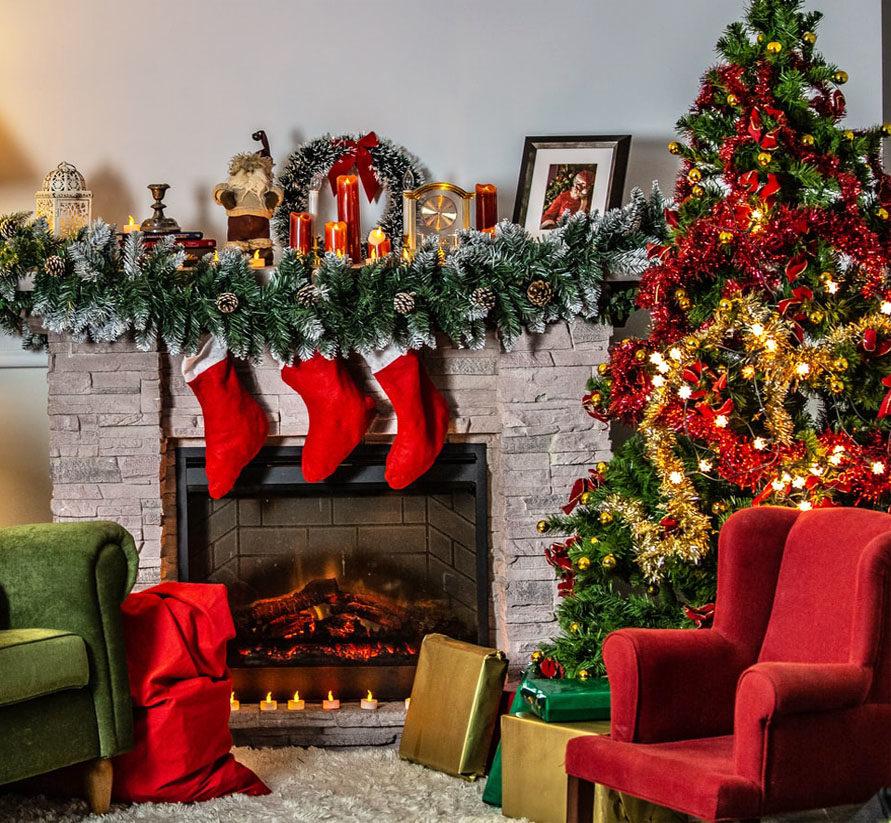 Navidades para un hogar confortable