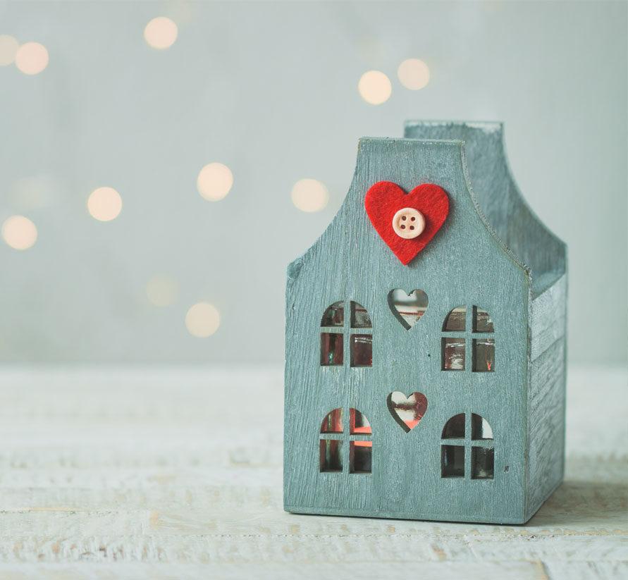 San Valentín hogar con mucho amor