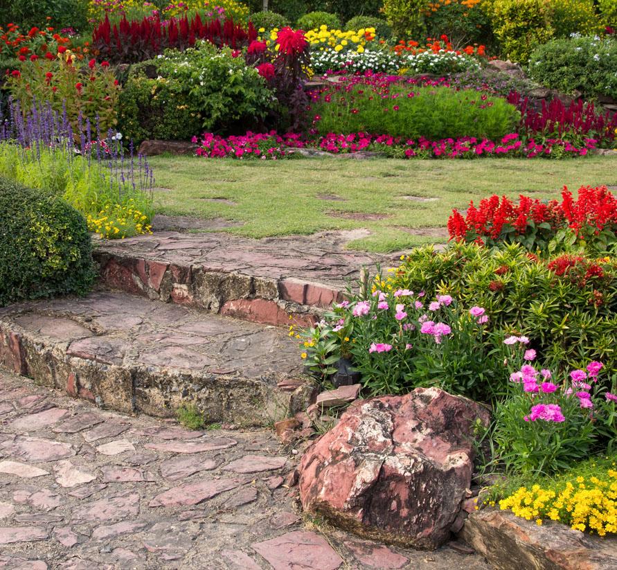 Un jardín moderno y actual para este año