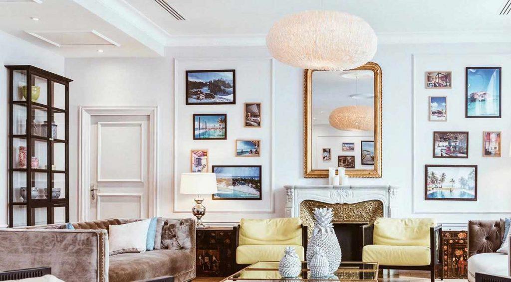 Las opciones decorativas son infinitas y no hay una regla escrita, aunque sí hay dos máximas: equilibrio y armonía.