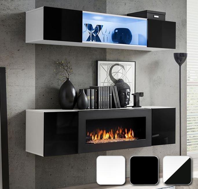Módulos cuadrados, horizontales y verticales para diseñar tú mismo tu salón modelo Krista 3