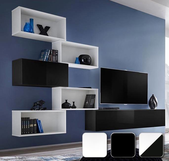 Módulos cuadrados, horizontales y verticales para diseñar tú mismo tu salón modelo Martina