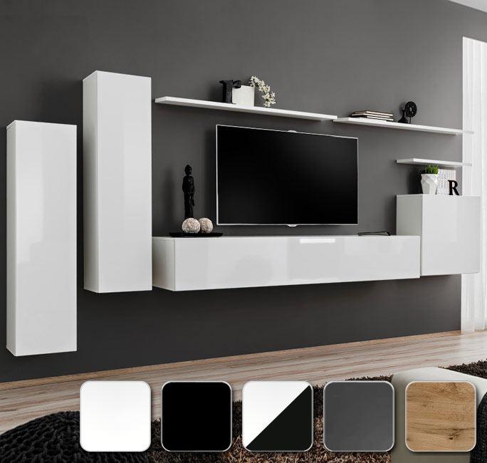 Muebles de salón de salón para combinar en varios colores modelo Berit 1