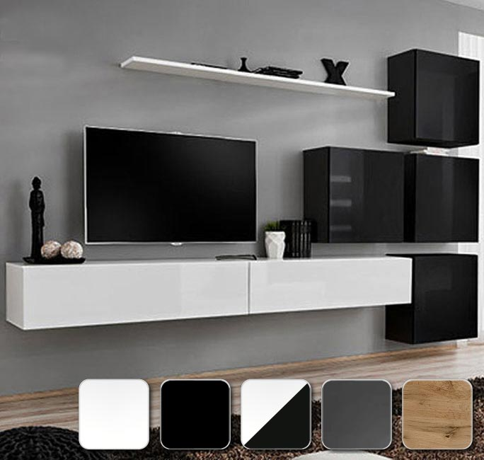 Serie de muebles de salón Berit 2 configurables