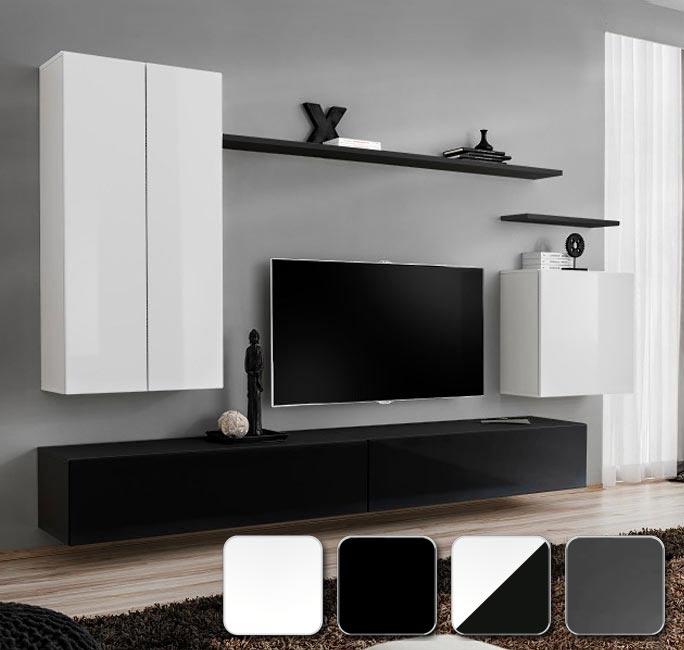 Módulos cuadrados, horizontales y verticales para diseñar tú mismo tu salón modelo Berit
