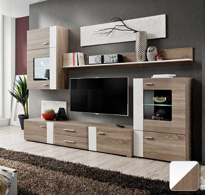 Muebles de salón Monica en varios colores