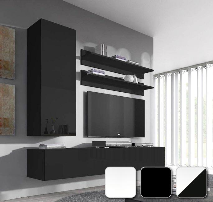 Muebles de salón Nora H1 en varios colores