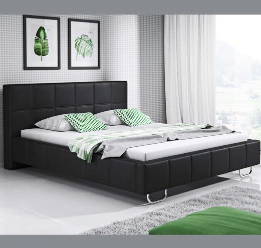 Cama de diseño varias medidas Sofía en color negro