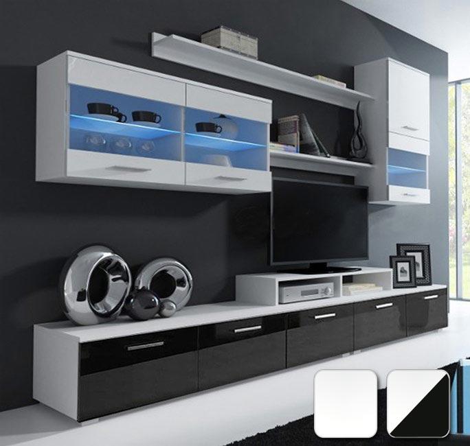 Muebles de salón al mejor precio, varios colores, accesorios