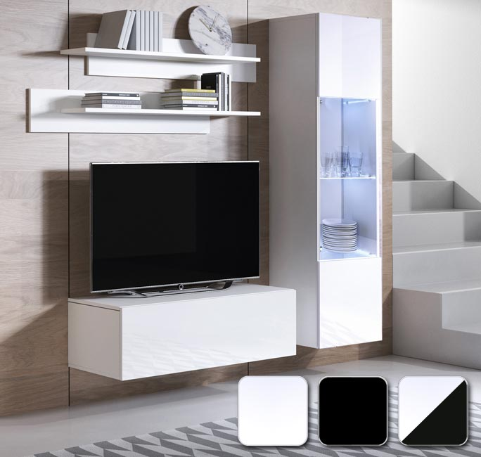 Muebles de salón Luke 3 en varios colores