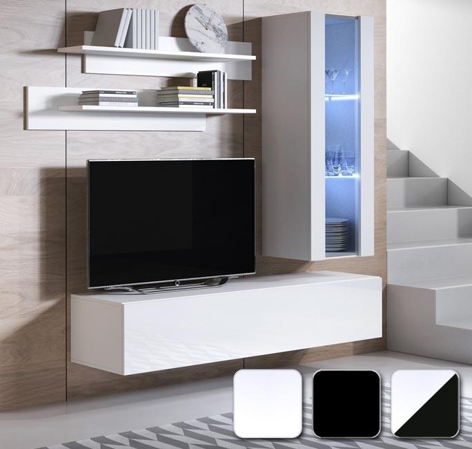 Muebles de salón Luke 5 en varios colores
