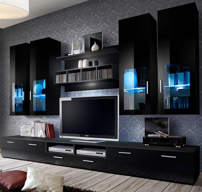 Muebles de salón Acosta en varios colores