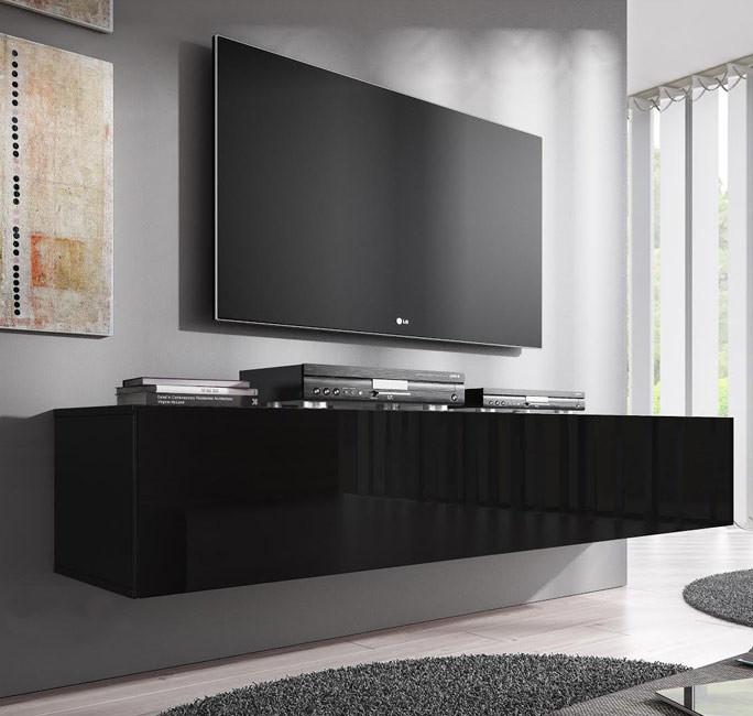 Mueble tv modelo forli for Mueble tv negro