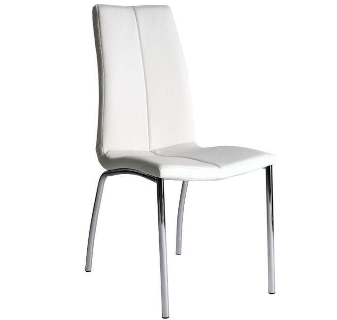 Silla de comedor Morgana color blanco