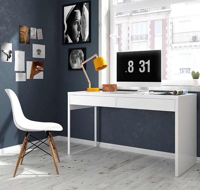 Mesa de despacho 138cm blanco artik modelo 002315A