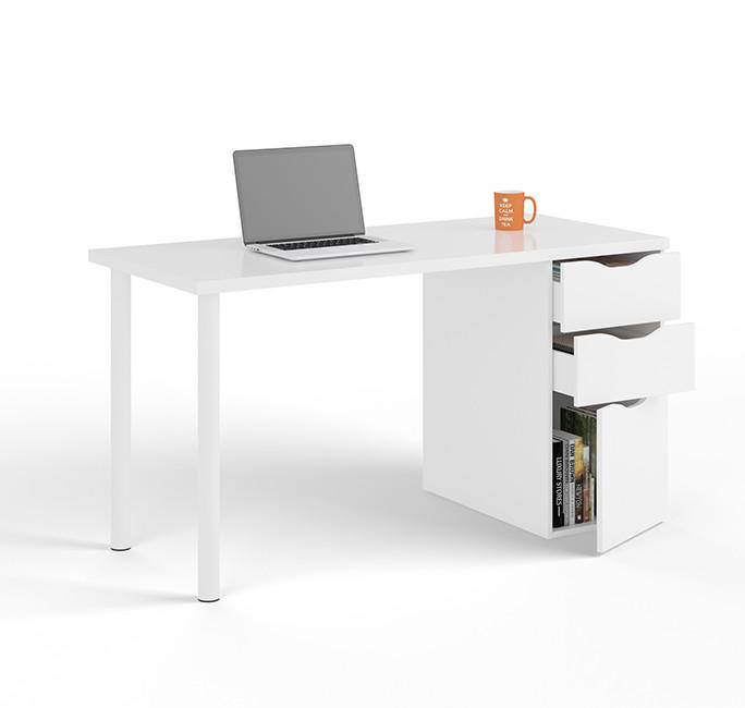 Mesa de despacho 138cm blanco artik modelo 004604A