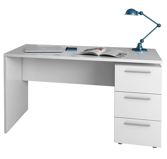 Mesa de despacho 138cm blanco artik modelo 004605A