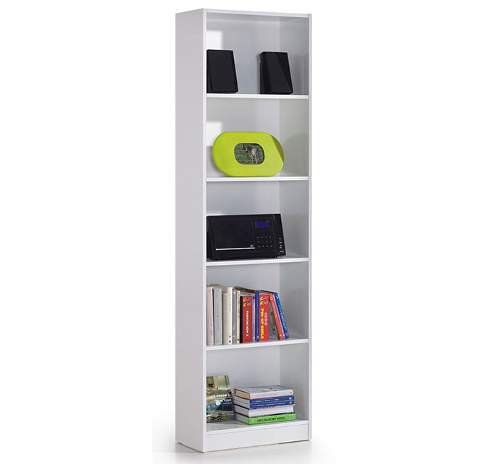 Estantería con 5 estantes color blanco artik Mod 005422A