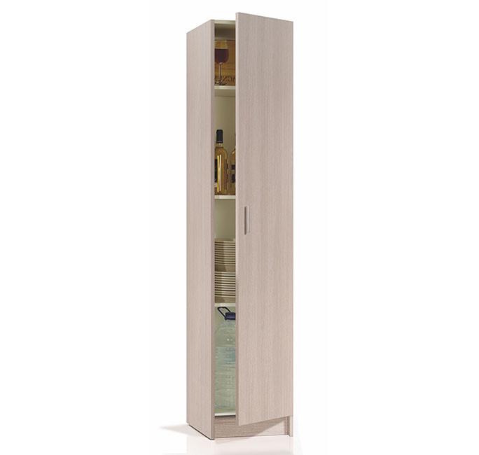 Armario multiusos roble 1 puerta modelo 007141R