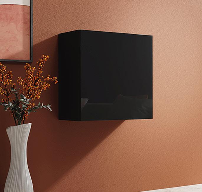 armario colgante berit 60 negro
