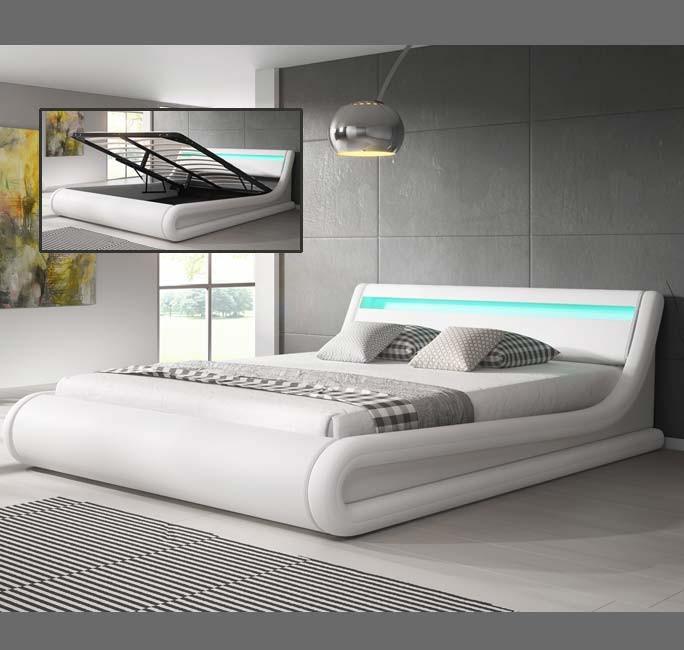 cama parisina blanco