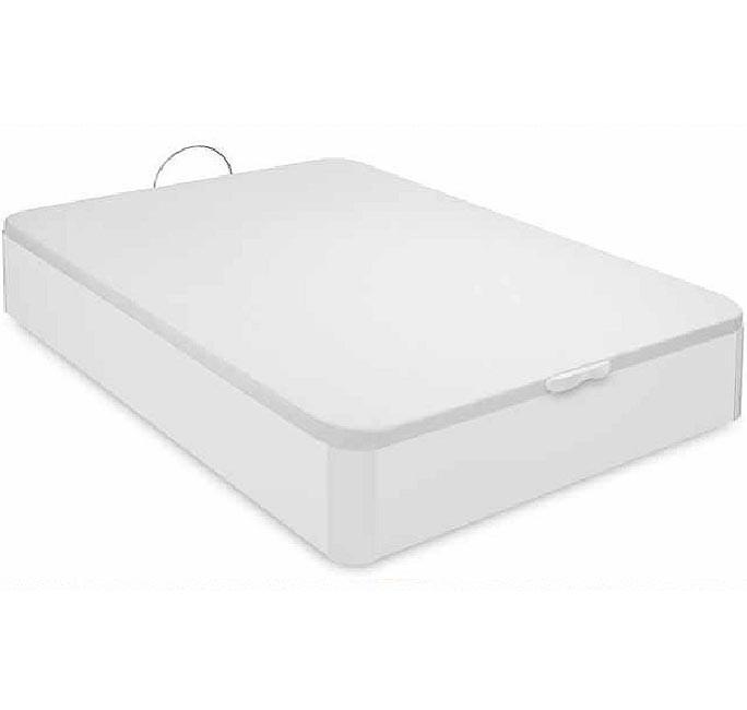 Canapé arcón Hércules blanco (135x190cm). Envío-montaje incluido.