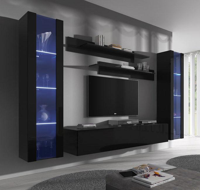 conjunto meubles nora negro b2