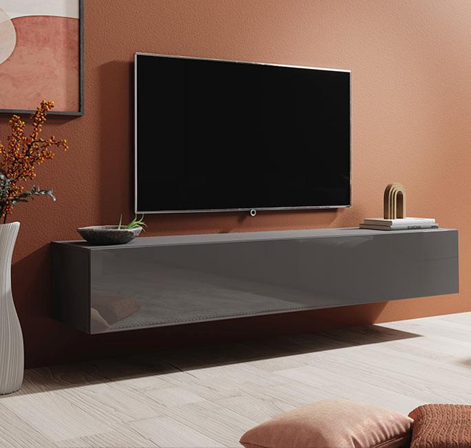 mueble tv berit h180 gris