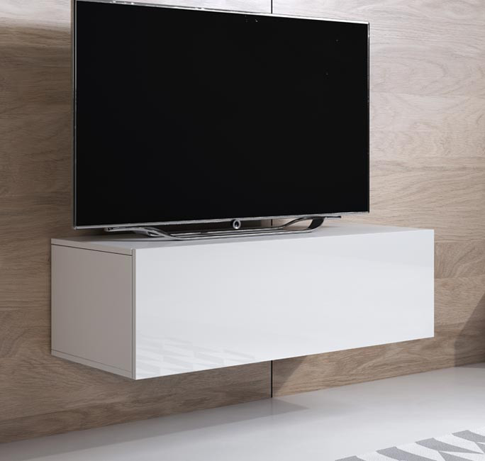 mueble tv luke h1 100x30 blanco