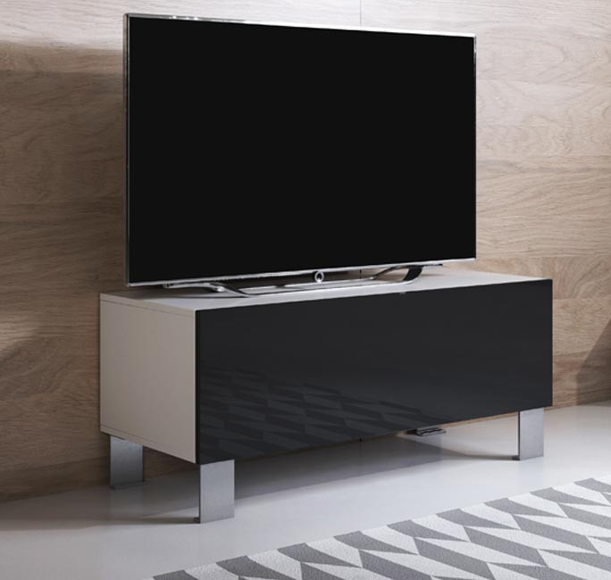 mueble-tv-luke-h1-100x30-pies-aluminio-blanco-negro