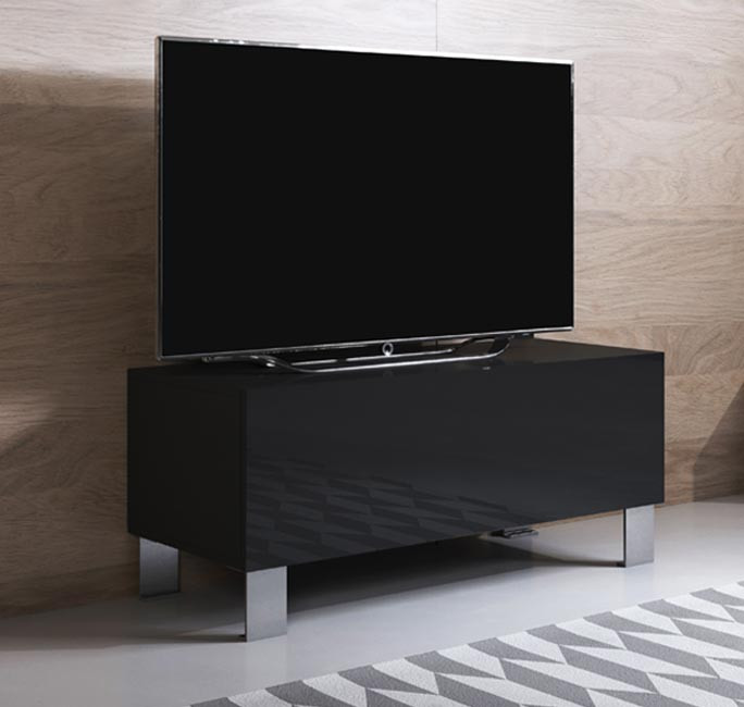 mueble-tv-luke-h1-100x30-pies-aluminio-negro
