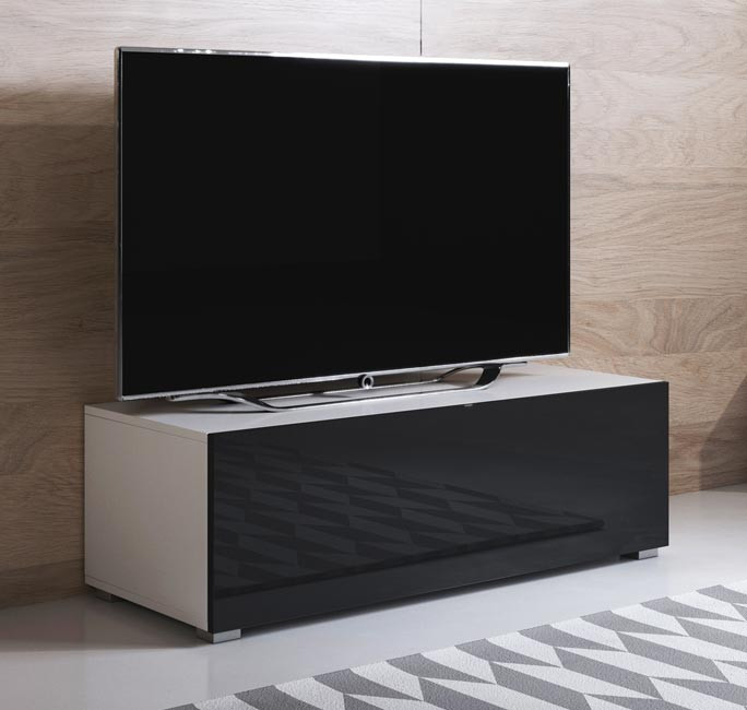 mueble-tv-luke-h1-100x30-pies-blanco-negro