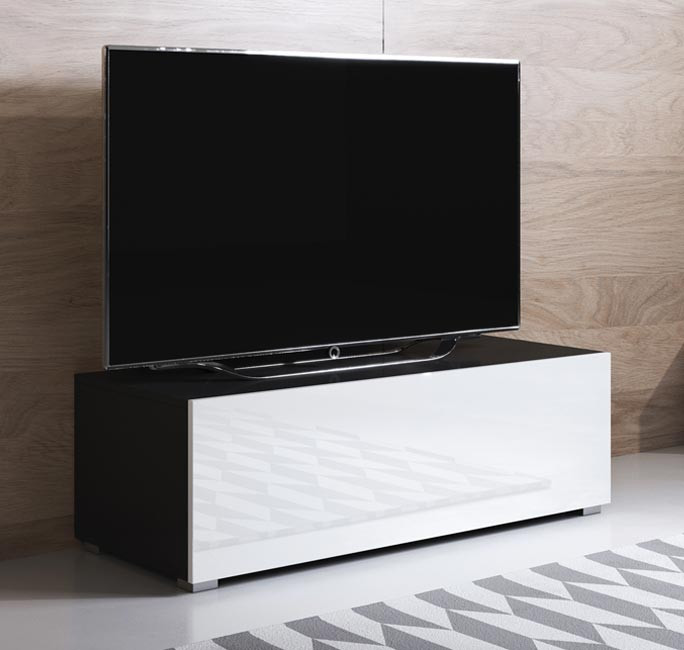 mueble-tv-luke-h1-100x30-pies-negro-blanco