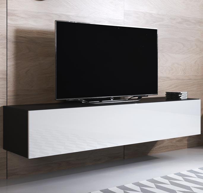 mueble-tv-luke-h1-160x30-negro-blanco