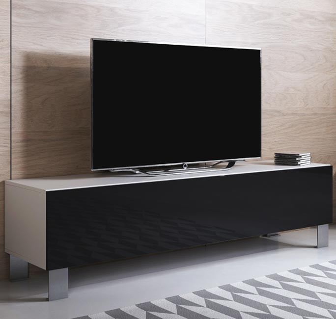 mueble-tv-luke-h1-160x30-pies-aluminio-blanco-negro