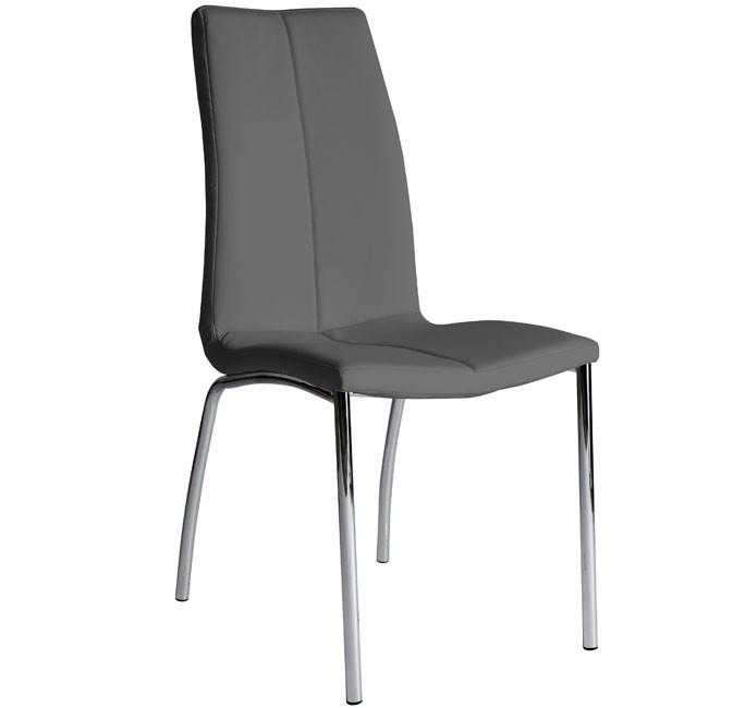 silla comedor morgana gris oscuro