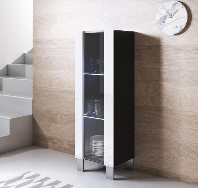 vitrina-colgante-luke-v2-40x126cm-pies-aluminuo-negro-blanco