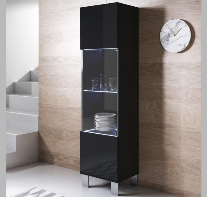 vitrina-colgante-luke-v6-40x165cc-pies-aluminio-negro