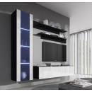 conjunto meubles nora negro blanco g2