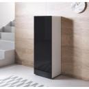 meuble-tv-luke-v1-40x126-pieds-blanc-noir