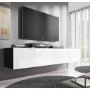 mueble tv forli xl negro blanco
