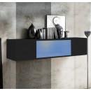 mueble tv krista h120cc negro
