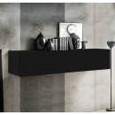 mueble tv krista h150 negro