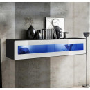 mueble tv krista h150cr negro blanco