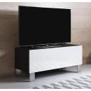 mueble-tv-luke-h1-100x30-pies-aluminio-negro-blanco