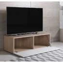 mueble-tv-luke-h1-100x30-pies-sonoma-blanco-abierto