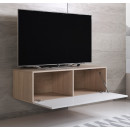 mueble-tv-luke-h1-100x30-sonoma-blanco-abierto