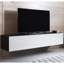 mueble-tv-luke-h1-160x30-negro-blanco