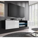 mueble tv tibi negro bianco