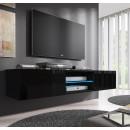 mueble tv tibi negro